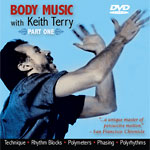 Body Music, Part One with Keith Terry DVD