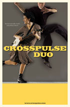 Poster of Evie Ladin & Keith Terry, Crosspulse Duo